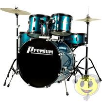 Bateria Musical Premium Dx722 Completa Bl - Loja Kadu Som