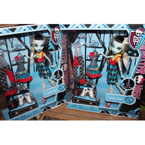 Monster High Frankie Stein 3 Cambios De Ropa