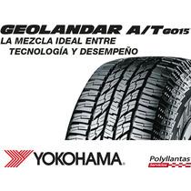 Llanta 265/70r17 Yokohama Geolandar A/t G015, Nuevas
