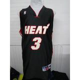 Camiseta Nba Miami Heat Talla Xl Wade