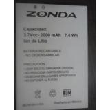 Pila Para Cel Zonda 3.7vcc-2000 Mah 7.4wh (nueva)