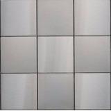 Mosaicos Venecitas Guardas Azulejos Acero Inoxidable (10x10)