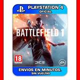Battlefield 1 Ps4 : Digital : Oferta Unica  2 