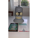 Colecão Futurama Cabeça Bender 19 Discos Edição Numerada