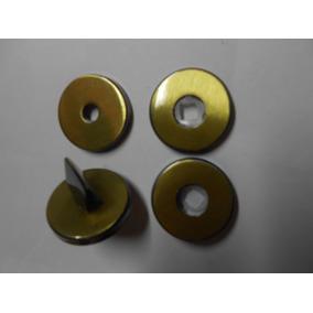 Rosetas/espelhos/dourado Modelo Banheiro. Ref: 350- L O