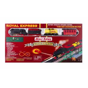 Tren Royal Express Master Railway 53 Piezas Desarrollo 5,5 M