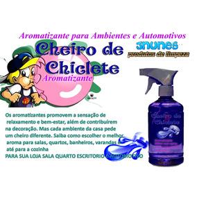 Aromatizante 500ml Com Spray Fragrancia Especial Chiclete