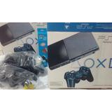 Playstation 2 Ps2 Na Caixa Destravado 2 Controles 4000 Jogos
