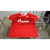 Camisa Oficial Puma Time Futebol Estrela Vermelha Servia