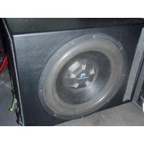 Woofer 15 Fubar Power Acoustick+ Potencia Ovn-3000 Caño