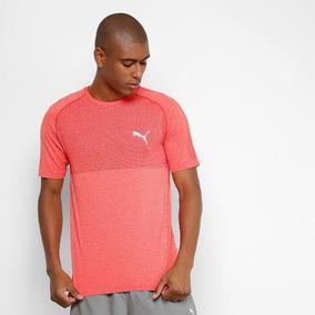 Camiseta Puma Evoknit Basic Tee - Masculina - Vermelha