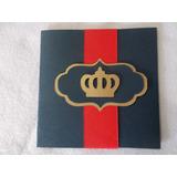 Convite Rei Davi - Rei Arthur-pacote Com 25 Unidades