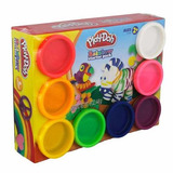 Set 8 Masas Playdoh Rainbow Starter Pack Set Inicio Hasbro