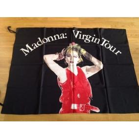 Madonna - Virgin Tour Bandeira Grande Importada Raro
