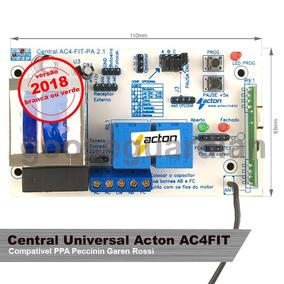 Placa Central P/ Motor Portão Universal Acton 433mhz