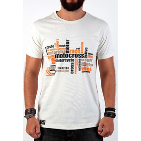 Camiseta Na Dúvida Acelera Bege Claro
