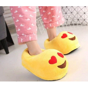 Pantuflas Emoticones Bordadas Originales
