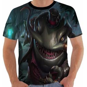 Camiseta League Of Legends Tahm Kench Lol Color