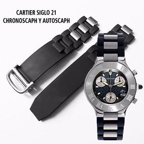 Extensible Correa Cartier Siglo 21 Chronoscaph 20mm