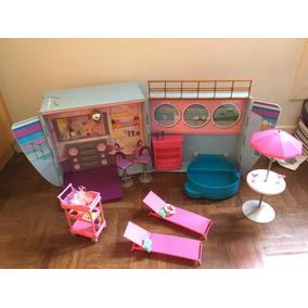 Barbie Party Avião & Navio Kit 2-in-1