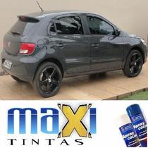 Tinta Spray Automotiva Vw Cinza Urano + Verniz 300ml