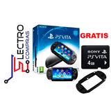 Psvita Sony Consola Doble Cámara Wifi-touch +regalo Memoria