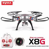 Drone Syma X8g Cámara Hd 8mp Cuadricóptero Gran Angular Rtf