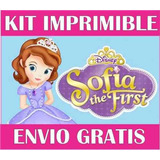 Princesa Sofia Kit Imprimible Invitaciones + Regalo 2x1