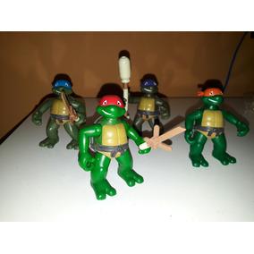 Lote Tartarugas Ninja Crianças Tmnt 2003