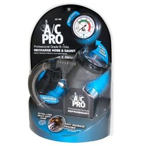 A / C Pro Acp-400 R-134a Pro Manguera Y Manómetro De Recarg