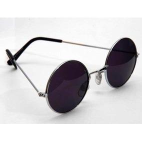 Oculos Estilo John Lennon Preto - Óculos De Sol Sem lente polarizada ... d698f4828c