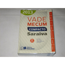 Vade Mecum Compacto 2013 - 9ª Edição - Saraiva
