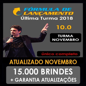 Curso Fórmula De Lançamento 10.0 2018 - Érico Rocha + 15mil