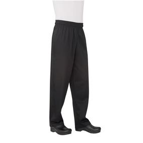 Pantalon Baggy Basic Negro Xs