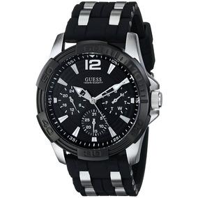 Reloj Guess Deportivo U0366g1 Hombre Negro Nuevo