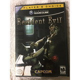 Resident Evil Gamecube Abierto Impecable