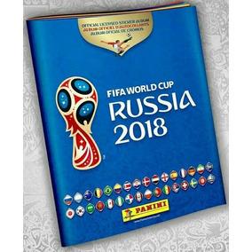 Álbum Copa Do Mundo Rússia 2018 Vazio!!