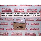 Espejo De Retrovisor Derecho Corolla 2009 2014 Orig Toyota