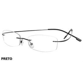 Armação P/ Óculos De Grau Sem Aro Em Titanium - 9 Cores