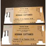 Hernan Cattaneo Teatro Colon 23 Feb Palco Alto 14 Sentado