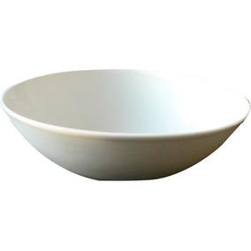 Plato De Sopa Porcelana 18 Cm X 12 Unidades Extra Blanco