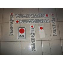 Calcomanias Bmx Kuwahara