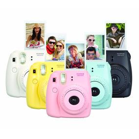 Câmera Instântanea Fuji Instax Mini 9 E Mini 8 Plus