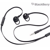 Auricular Manos Libres Blackberry 100 % Original 3,5mm C/mic