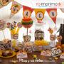 Kit Decoracion La Casa De Mickey Imprimible Fiesta Cumpleaño