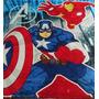 Manta Personagens Capitão América Infantil, Quarto, Coberta