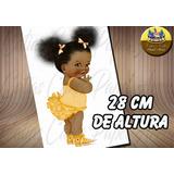 Bebê Black Power Papel De Arroz A4 Md02
