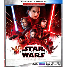 Saga Star Wars Bluray  Last Jedi Latino Envio Incluido