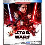 Saga Star Wars Bluray Incluye Last Jedi Latino Envio Gratis