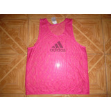 Chaleco Peto Camiseta Entrenamiento Futbol adidas Original